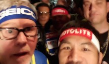 Jimmy Kimmel Walks To The Ring With Manny Pacquiao (Video)