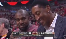 Kanye West Smile? It Almost Happened At Cavs-Bulls Game 4 (Video)