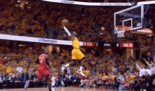 LeBron Took Flight During The Cavs' Game 4 Win (Video + GIF)