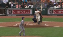 Madison Bumgarner Hits Home Run Off Clayton Kershaw (Video)