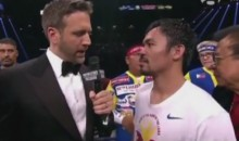 Pacquiao Thinks He Won, Blames Loss On Shoulder Injury (Videos)