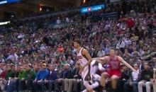 Bucks' Greek Freak Gets a Flagrant 2 For Spearing Mike Dunleavy (Video)