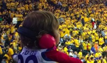 Oracle Arena Looks Like It Was Pretty Loud Last Night (Pic)