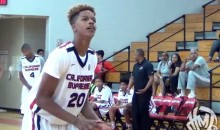 Shaq's 6′ 8″ Son, Shareef O'Neal Is (Gasp!) Good at Basketball (Video)