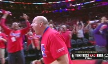 Steve Ballmer Goes Nuts After Clippers' Last-Second Series Win (Video)