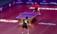 This Hard-Fought Table Tennis Point Is Perhaps the Best Ever (Video)