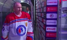 Vladimir Putin Played Suspiciously Good Hockey This Weekend (Video)