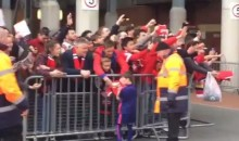 Wayne Rooney's Son (Who is 5-Years-Old) Was Signing Autographs (Video)