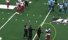 Arena Football League Player Quincy Butler Throws Helmet Into Stands, Injures Child (Video)