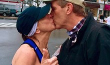 Boston Marathon Kisser Gets Letter From the Wife of the Random Guy She Smooched