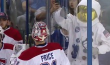 Watch This Dancing Astronaut Place a Hex Canadiens Goalie Carey Price (Video)