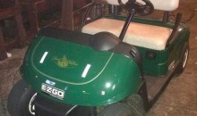 Two Drunks Stole a Golf Cart from Wells Fargo Championship and Drove It to a Local Bar (Pic)