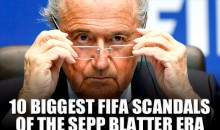 10 Biggest FIFA Scandals of the Sepp Blatter Era