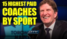 15 Highest Paid Coaches by Sport