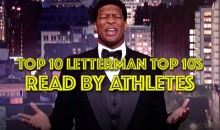 Top 10 Letterman Top 10s Read by Athletes