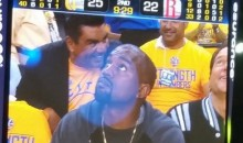 George Lopez Cheered, Kanye West Booed by Warriors Fans (Video/Pics)