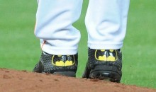 Astros Pitcher Lance McCullers Makes Major League Debut Wearing Amazing Batman Cleats (Pics)