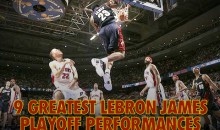 9 Greatest LeBron James Playoff Performances