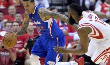 "Matt Barnes to James Harden's Mom: ""S*** My D***, B****"" During Game 2"