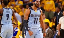 Tony Allen Invents New Mike Conley Nickname After Stellar Game 2 Performance: Say Hello to One-Eyed Charlie (Video)