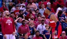 Paul Pierce Trash Talk to Atlanta Bench After Late Three Backfires Big Time (Pic)