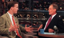 "Peyton Manning Letterman Tribute: QB Explains Why He's Always Been ""A Letterman Guy"""