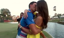 Rickie Fowler Celebrates TPC Win by Making Out with His Bikini Model Girlfriend Alexis Randock (Video)