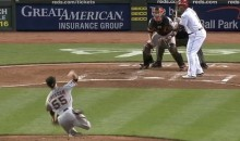 Tim Lincecum Falls Down Goes Boom in Cincinnati (Videos)