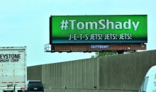 Jets Fans Pony Up for Twelve #TomShady Billboards Across Northern Jersey