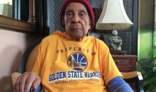 "105-Year-Old Warriors Fan ""Sweetie"" Is Going to Game 1 of the NBA Finals as the Team's Guest (Video)"
