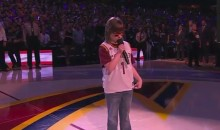 18 Year-Old Blind Girl With Cerebral Palsy Nails National Anthem at Game 6 (Video)