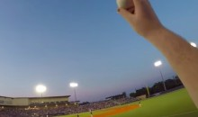 Barehanded Line Drive Caught on Weirdo Fan's GoPro (Video)