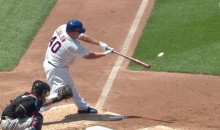 Bartolo Colon Hit a Double! (Video)
