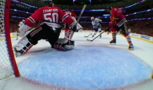 This Brent Seabrook Save Just Saved The Hawks' Season (Video)