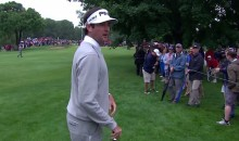 Bubba Watson Trash Talks a Spectator at the Travelers Championship (Video)