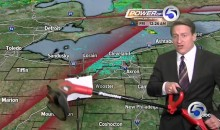 This Cleveland Weatherman Is Bitter About Game 4 (Video)