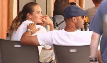 Derek Jeter and Hannah Davis Go Dutch on Pizza Bill in Italy