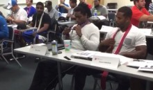 Watch the Detroit Lions Learn How to Tie a Tie (Video)