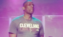 Let The Rumors Begin: Dwyane Wade's Dad Wears Cavs T-Shirt To Church (Pic)