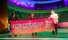 England's Women's World Cup Slogan is Pretty Risqué (Pic and Video)