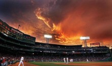 Fenway Sky Had an Apocalyptic Look Last Night (Pics)