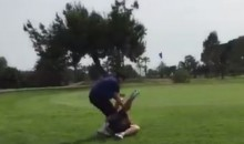 This Golf Fight is Exactly What You'd Expect to See At the Country Club (Video)