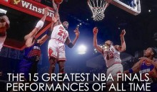 The 15 Greatest NBA Finals Performances of All Time