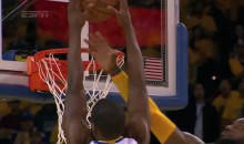 Harrison Barnes Posterizes LeBron James With Put-Back Dunk (Video)