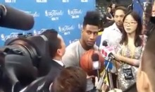 Cavs Iman Shumpert Not Impressed With Guillermo's Jokes (Video)
