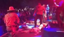 JJ Watt Sacks Fan at Zac Brown Band Concert (Video)