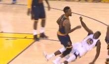 Watch JR Smith Truck Draymond Green During Game 5 (Video)
