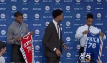 Jahlil Okafor Looks Thrilled To Be In Philly…No, Not Really (GIF)