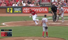Joey Votto Walks On Three Balls (Video)