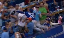 Josh Donaldson Dives Into Stands to Save Perfect Game (Video)